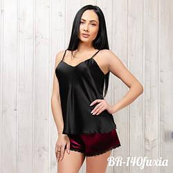 Женский комплект: маечка и шорты New Fashion BR-140fuxia