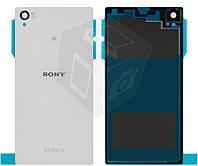 Задняя панель корпуса (крышка) для Sony Xperia Z C6602/C6603/C6606 L36h, оригинал (белый)