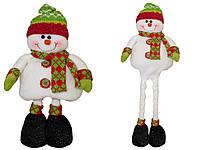 Снеговик с выдвижными ногами, 0,5 м (000982-2)