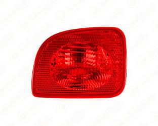 Задній протитуманний ліхтар (L. лівий) на Renault Kangoo II 2008-> — Depo - 551-4001L-LD-UE