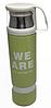 Термос вакуумний сталевий 500 мл з кухлем -«We are, I am, They one, Yours», фото 4