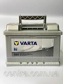Автомобильный аккумулятор VARTA 6СТ-61 Silver Dynamic D21 (561400060)