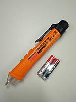 Бесконтактный тестер напряжения (двухдиапазонный) со световой и звуковой индикацией PM8909
