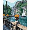Картина для малювання за номерами Ідейка Морська бухта 40х50 см (КНО2740)