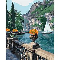 Картина для рисования по номерам Идейка Морская бухта 40х50 см (КНО2740)
