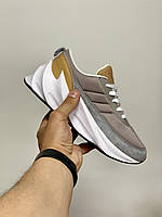 Женские кроссовки Adidas Sharks Brown Grey White