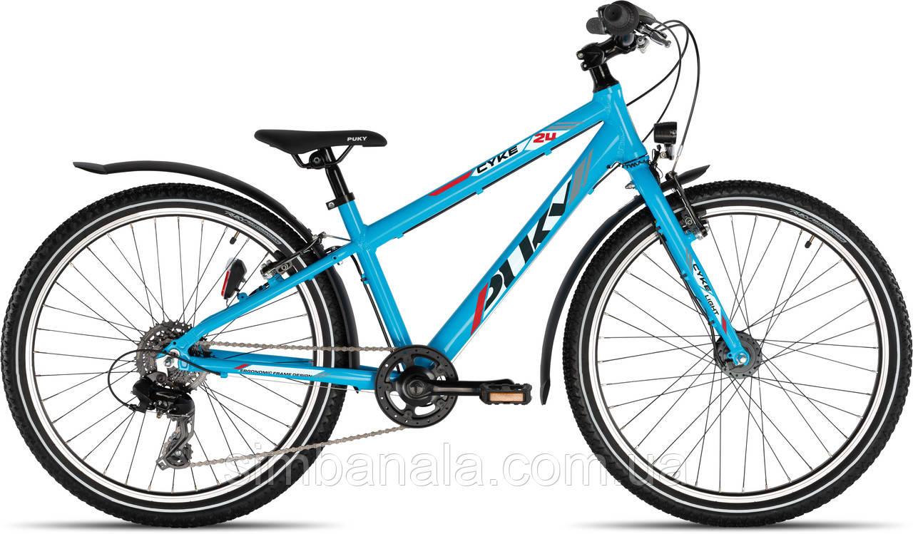 Подростковый велосипед Puky CYKE 24-8 LIGHT ACTIVE, Германия