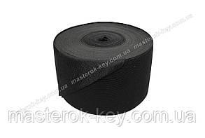 Резинка текстильная 10см Турция цвет черный