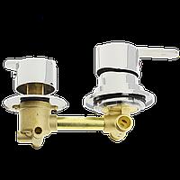 Змішувач для душової кабіни (S-2 \ 10) на два положення під штуцер, в стійку душової кабіни.