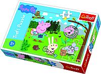 Trefl пазлы и игры 3 в 1 Лісова експедиція 30шт 22.5*16.5см пазлы природа, развивающие игры, логика