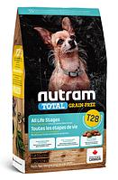 Сухой корм холистик Nutram Total GF MINI Salmon & Trout 2 кг с лососем и форелью для собак малых пород