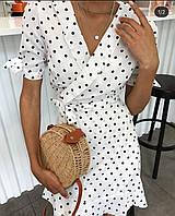 Платье женское в горошек 42-44, 44-46