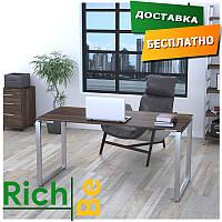 Металлическая мебель столы в стиле лофт Q-160 Орех Модена Столешница 16 мм