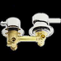 Змішувач для душової кабіни (G-2 \ 10) на два положення під гайку, в стійку душової кабіни.