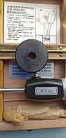 Нутромер НМ  6-7мм(Германия) ц.д. 0,001мм  с кольцом установочным 6,688, возможна  калибровка  в УкрЦСМ, фото 1