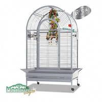 Вольер клетка для средних и больших попугаев  БЕЛЫЙ Manhattan - Platinum  101x77x177 см