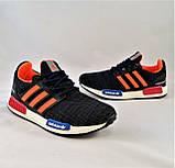 Кроссовки Adidas Мужские Адидас Синие (размеры: 40,41,42,43,44) Видео Обзор, фото 8