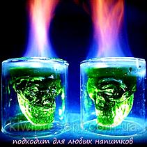 Череп в стакане (трехмерный Doom) 75 мл, фото 2