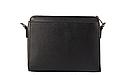 Женская сумка кроссбоди Laura Biaggi (118) кожаная черная, фото 2