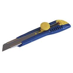 Нож пластиковый 18мм оборотный фиксатор СВИТЯЗЬ (23403)