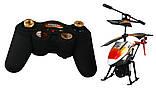 Вертолёт на радиоуправлении 3-к WL Toys V319 SPRAY водяная пушка (оранжевый), фото 3