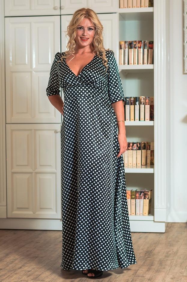 Женское вечернее платье в пол (50-60) 8044.2