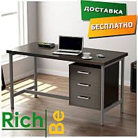 Металлическая мебель столы в стиле лофт L-45 Венге Корсика