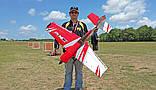 Самолёт р/у Precision Aerobatics XR-52 1321мм KIT (красный), фото 6
