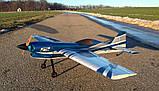 Самолёт р/у Precision Aerobatics XR-52 1321мм KIT (синий), фото 4