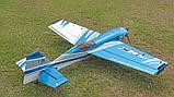 Самолёт р/у Precision Aerobatics XR-52 1321мм KIT (синий), фото 5
