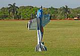 Самолёт р/у Precision Aerobatics XR-52 1321мм KIT (синий), фото 6