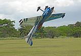 Самолёт р/у Precision Aerobatics XR-52 1321мм KIT (синий), фото 7