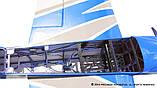 Самолёт р/у Precision Aerobatics XR-52 1321мм KIT (синий), фото 8