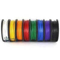 Набор PLA пластика STANDART 1,75мм 8 цветов по 0,125 кг