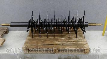Вал барабана измельчителя ПУН-5 комбайна НИВА (в сборе) с ножами