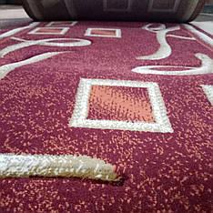 Дорожка ковровая Excellent D0193A Burgundy / 0.7 м