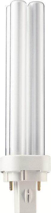 Лампа энергосберегающая PHILIPS PL-С 18w/840/2P G24d