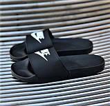 Мужские Шлёпанцы Тапочки N!KE Сланцы Найк Чёрные (размеры: 40,41,42,43,44), фото 6
