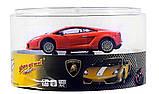 Машинка ShenQiWei микро р/у 1:43 лиценз. Lamborghini LP560 (оранжевый), фото 2