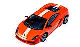 Машинка ShenQiWei микро р/у 1:43 лиценз. Lamborghini LP560 (оранжевый), фото 3