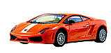 Машинка ShenQiWei микро р/у 1:43 лиценз. Lamborghini LP560 (оранжевый), фото 4