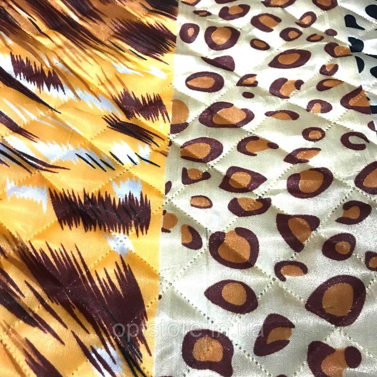 Атласне літній ковдра-покривало полуторний розмір 145/205 см