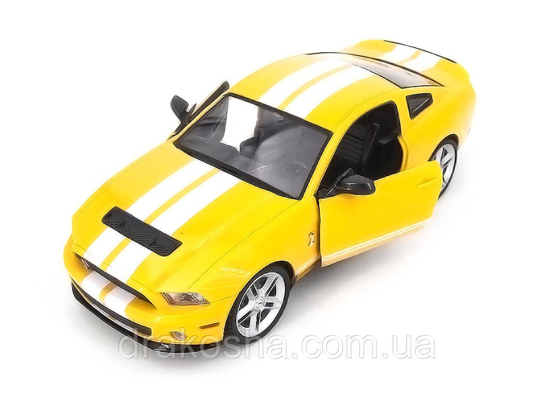 Машинка радиоуправляемая 1:14 Meizhi Ford GT500 Mustang (желтый)