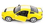 Машинка радиоуправляемая 1:14 Meizhi Ford GT500 Mustang (желтый), фото 2