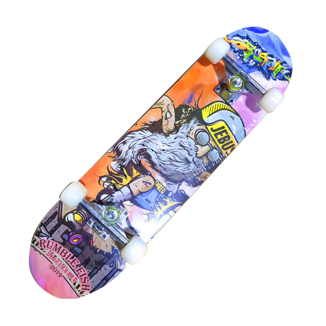 СкейтБорд деревянный ДЕД