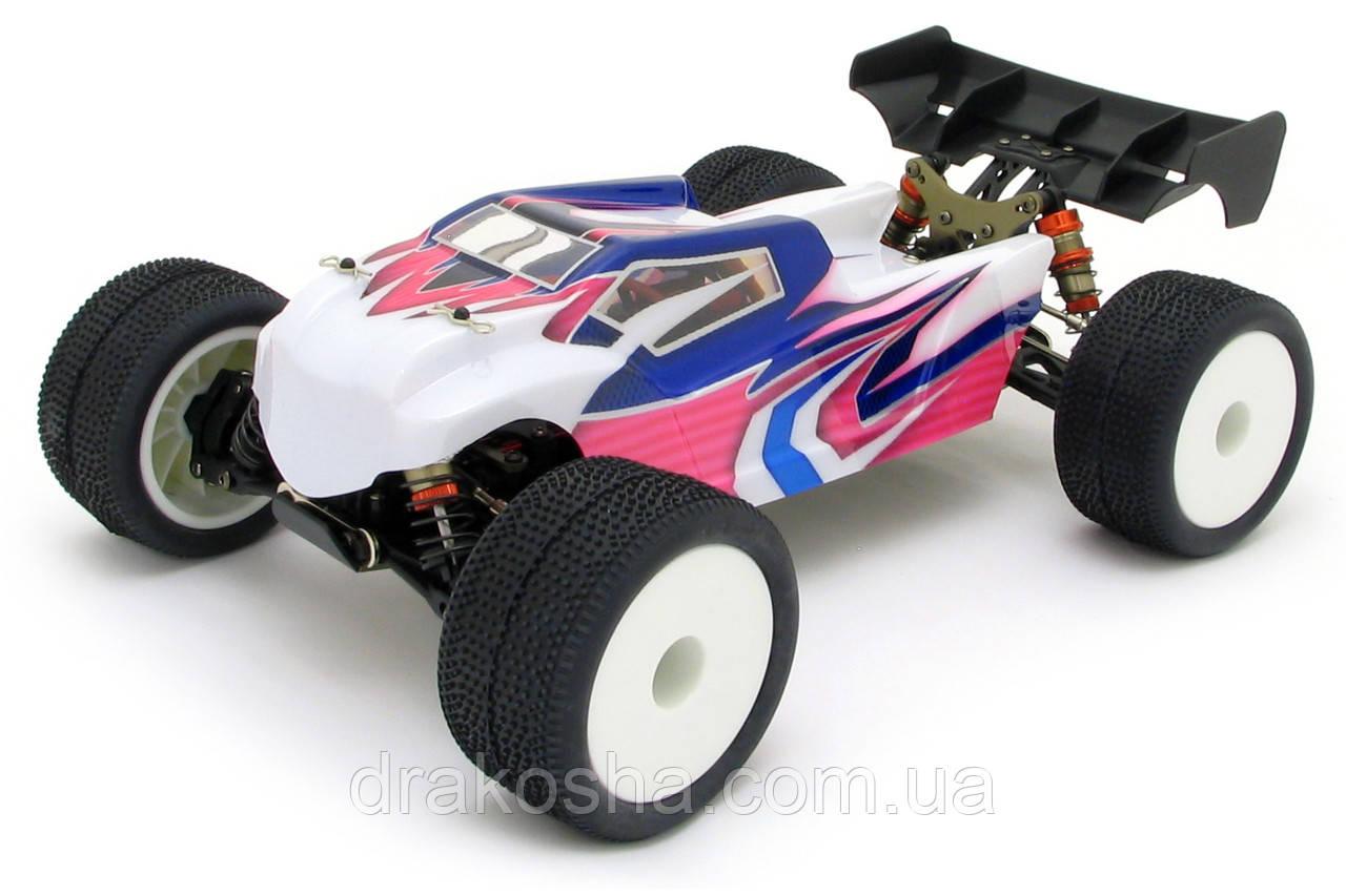 Трагги 1:14 LC Racing TGH бесколлекторная (белый)