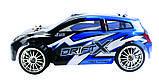 Радиоуправляемая модель Дрифт 1:18 Himoto DriftX E18DT (синий), фото 2