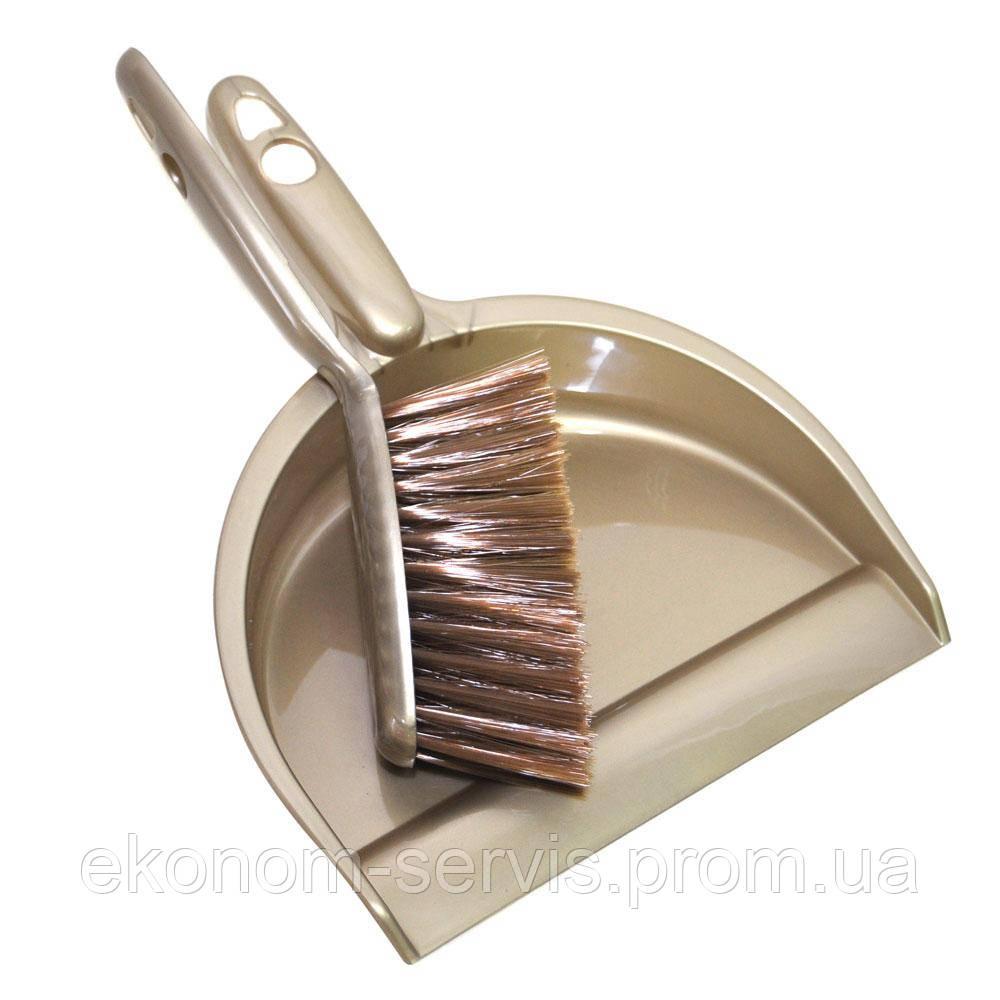 Комплект для прибирання (совок і щітка)