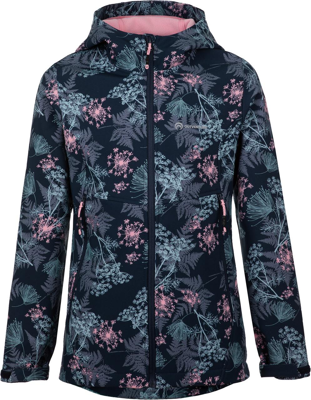 Куртка-софтшелл для девочек Outventure