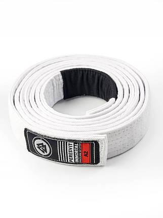 Пояс для кимоно Peresvit BJJ Belt White, фото 2